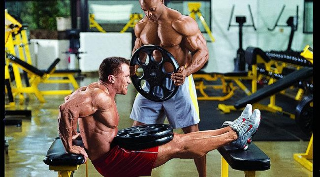 Weighted Bench Dip