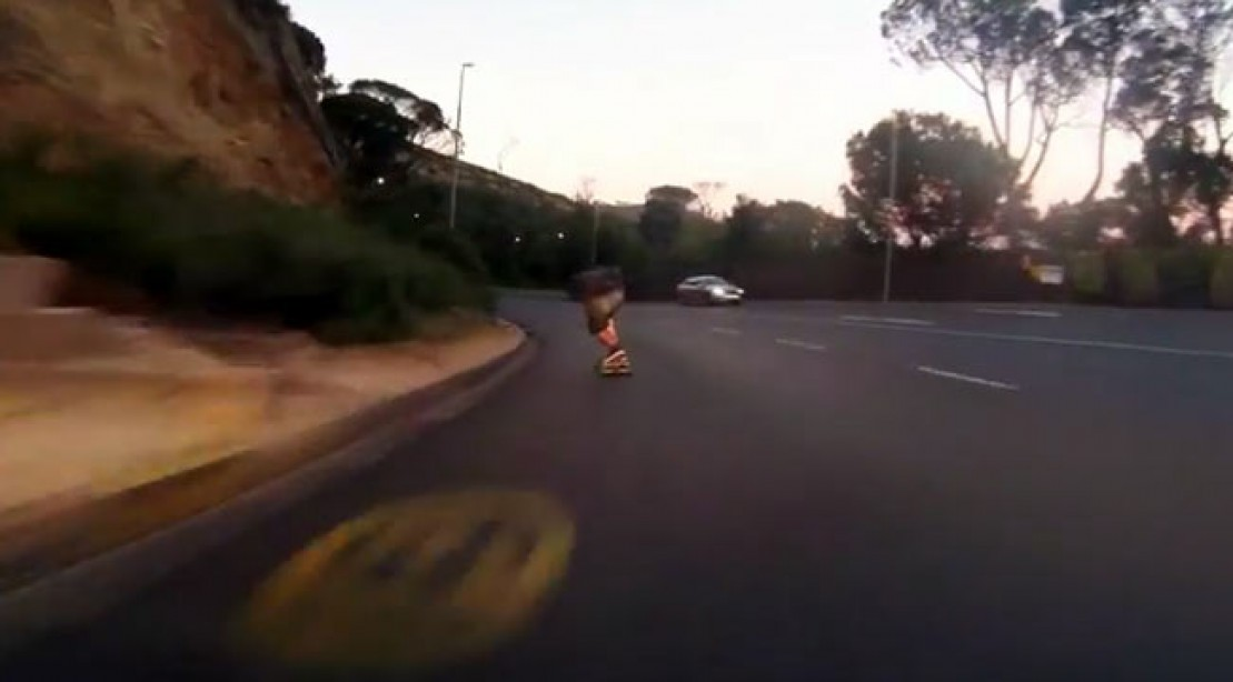 Extreme Sports: Skateboarder May Be Charged After Breaking Speed Limit