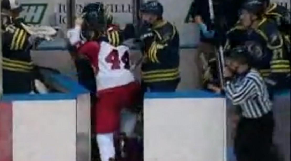 Epic Ice Hockey Holiday Brawl