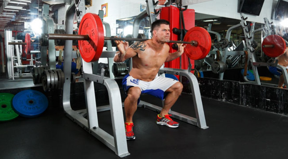 Brian Stanns Workout Muscle Fitness