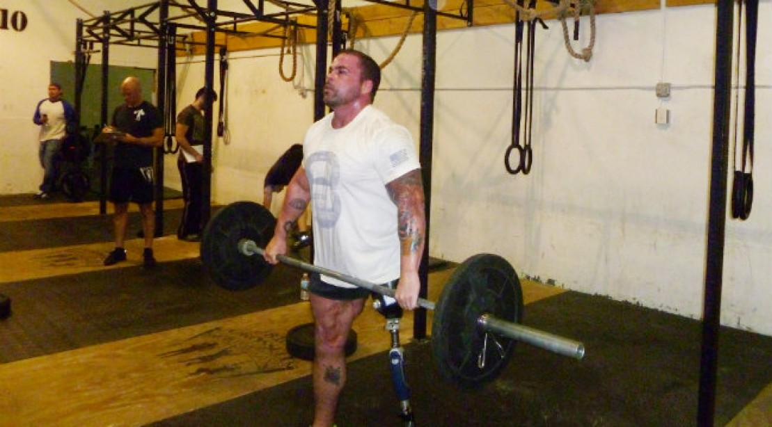 Army Tough: Soldier Finds Strength in the Gym