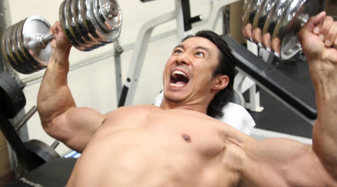 Mike Chang Bench Press Part - 19: Mikeu0027s Changu0027s 350 Rep, Body Blasting Workout
