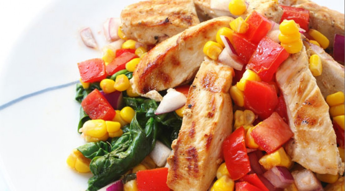 High protein salsa chicken recipe muscle fitness high protein salsa chicken recipe always a favorite mexican inspired dishes are fun filling and easy to make forumfinder Choice Image