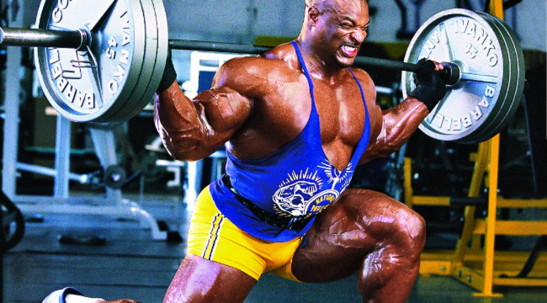 Ronnie Coleman: Walking Lunge