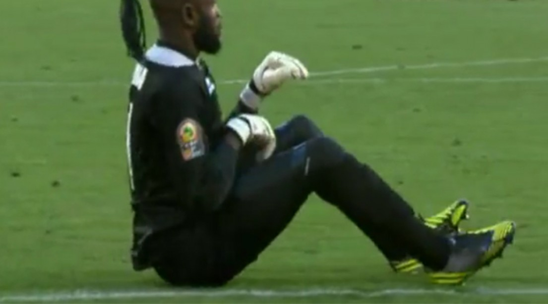 Check Out This Goalkeeper's Unique Celebration