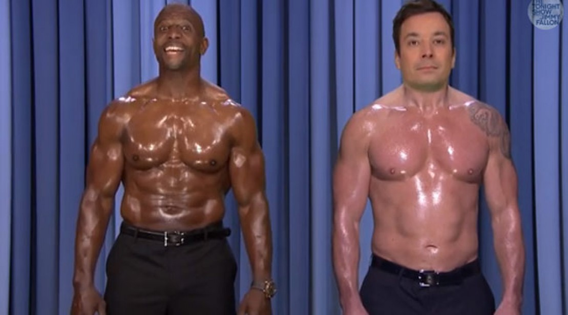 Terry Crews and Jimmy Fallon's Epic Nip-Synching Session