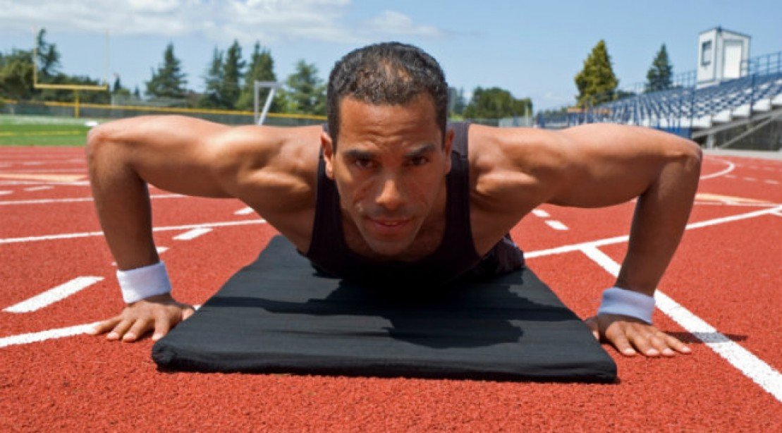 Get Crushed: High Intensity Sprint - Pushup Workout