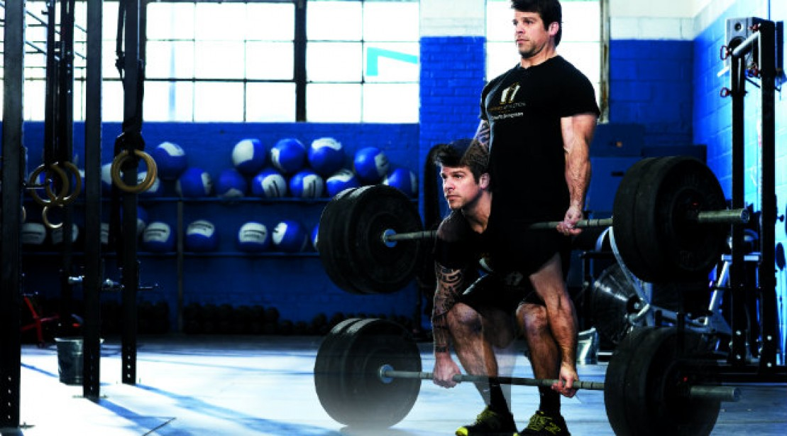 CrossFit WOD: Fight to the Finish