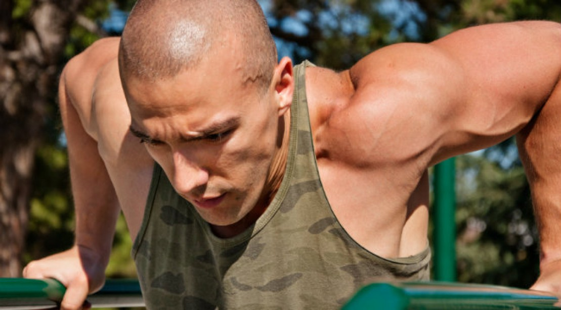 Chest Arm Training Dips The Upper Body Cure Muscle Fitness