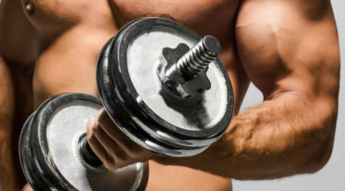 One Dumbbell, Two Muscular Arms