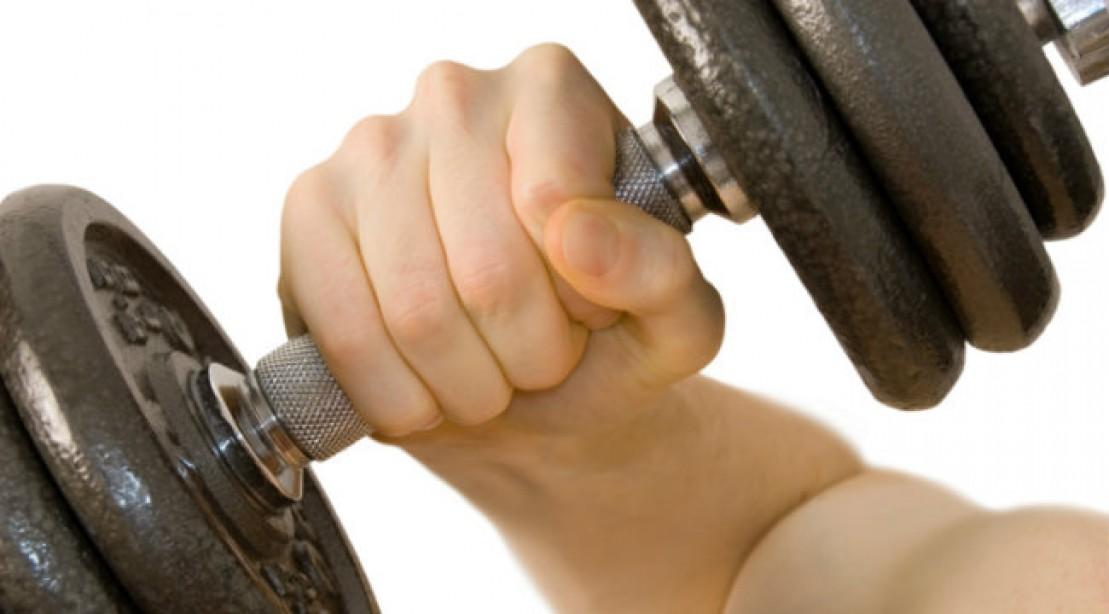 Close-Grip Decline Dumbbell Press