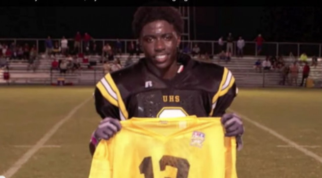 8th Grader Offered Football Scholarship to Alabama and LSU