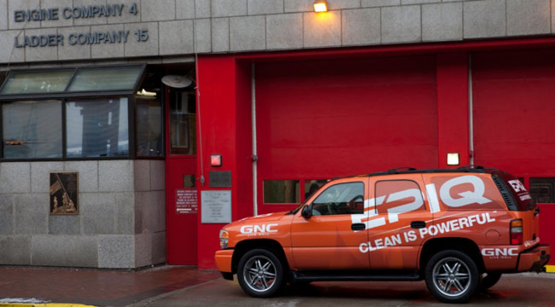 GNC Gives NYC Fire Station a Boost