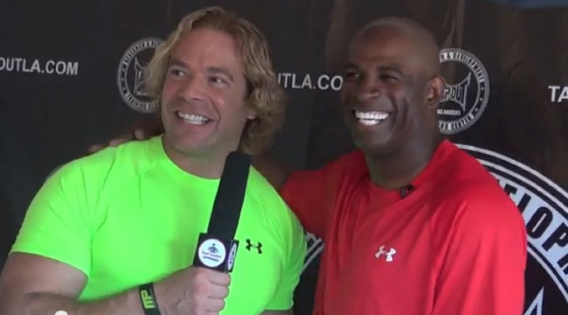Celebrity Sweat Workout 2 with Eric The Trainer: