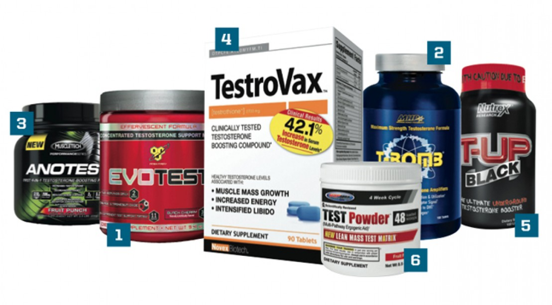 Stack of the Month: Natural Testosterone Boosters