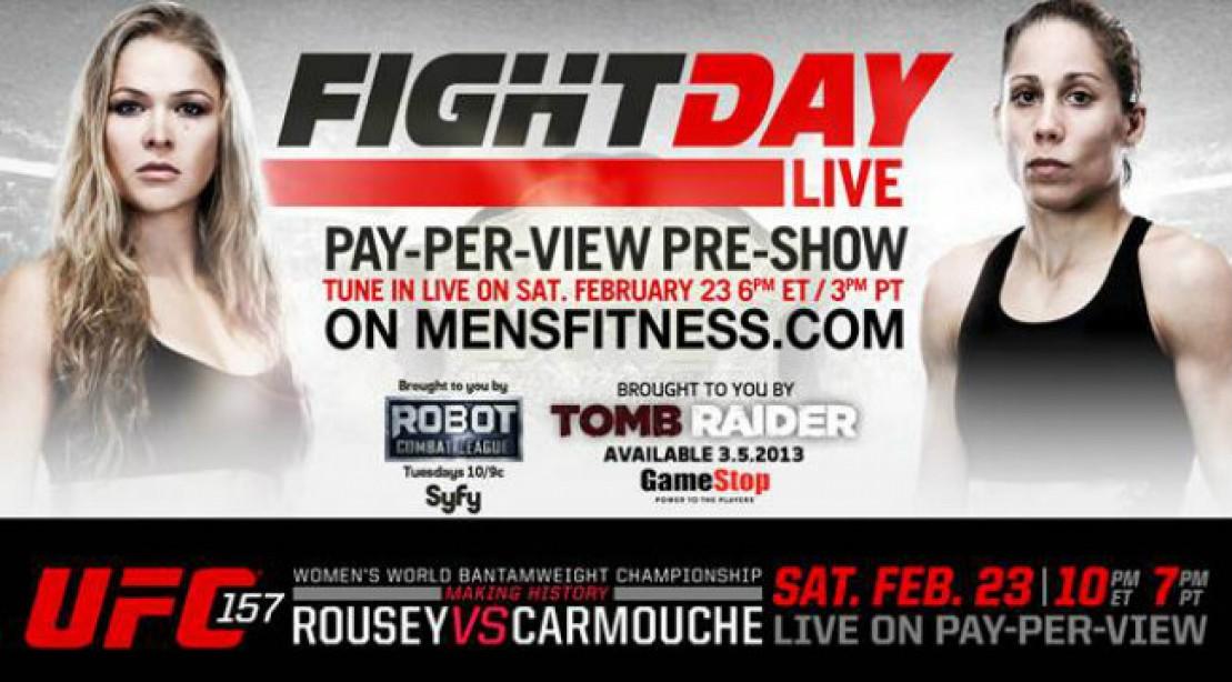 Fight Day Live: Ronda Rousey vs. Liz Carmouche