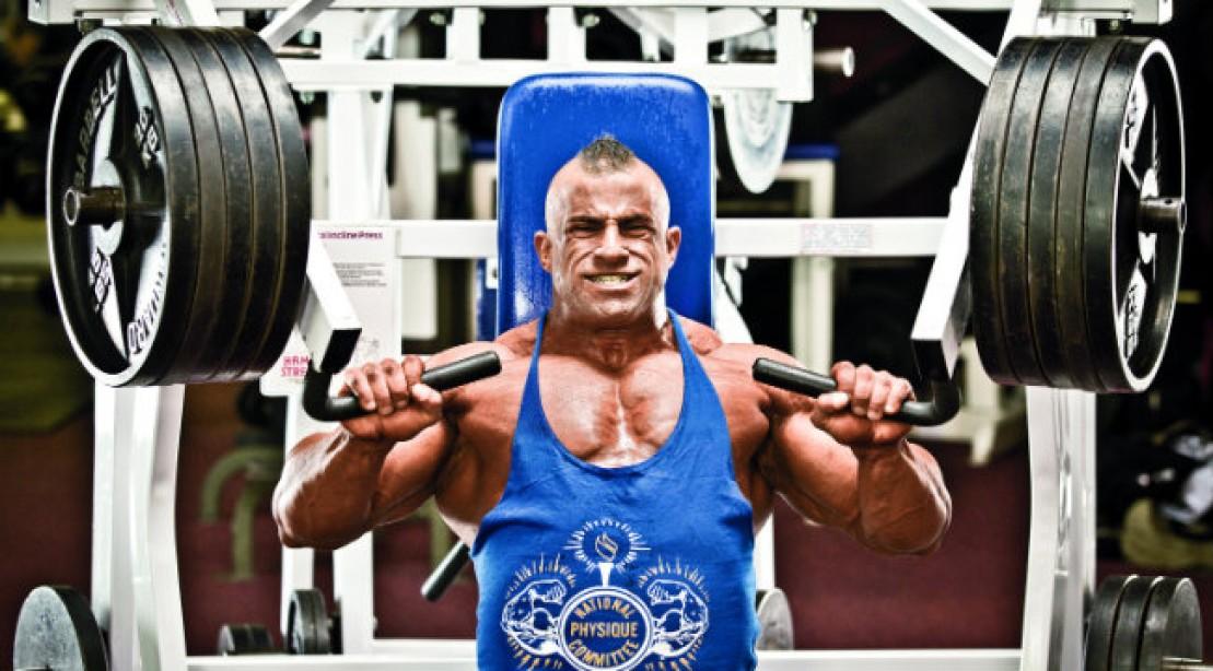 Fouad Abidad: Chest Workout