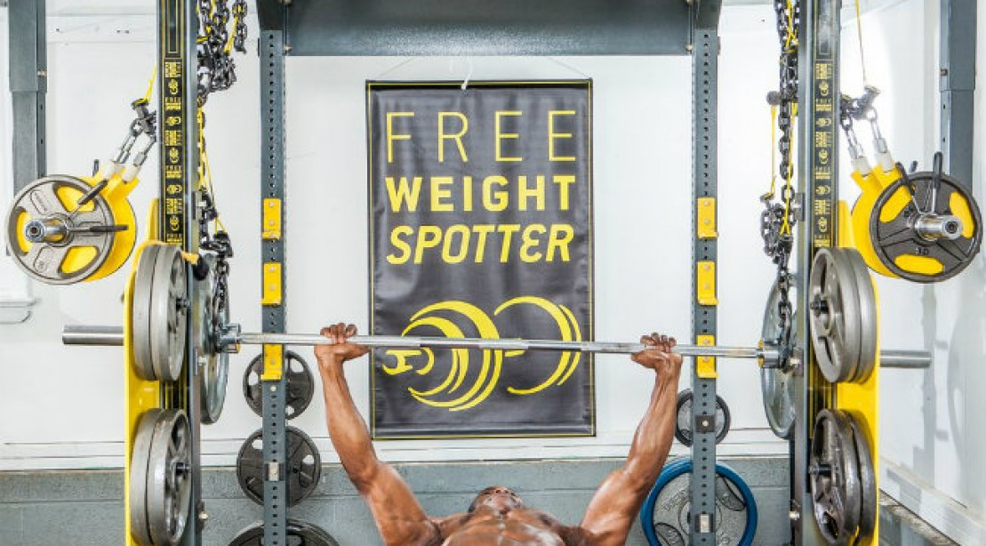The Olympic Free Weight Spotter