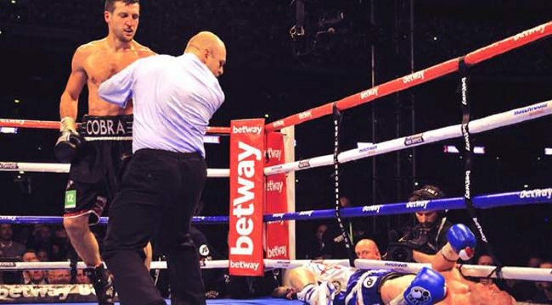 80k Fans Watch Carl Froch KO Georges Groves