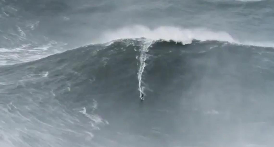 Report: Surfer Garrett McNamara Rides Record Monster Wave