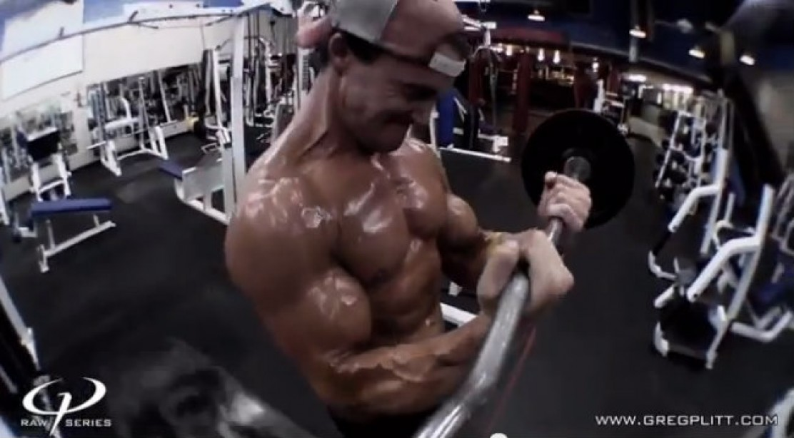 Greg Plitt - Gun Blast Workout Preview