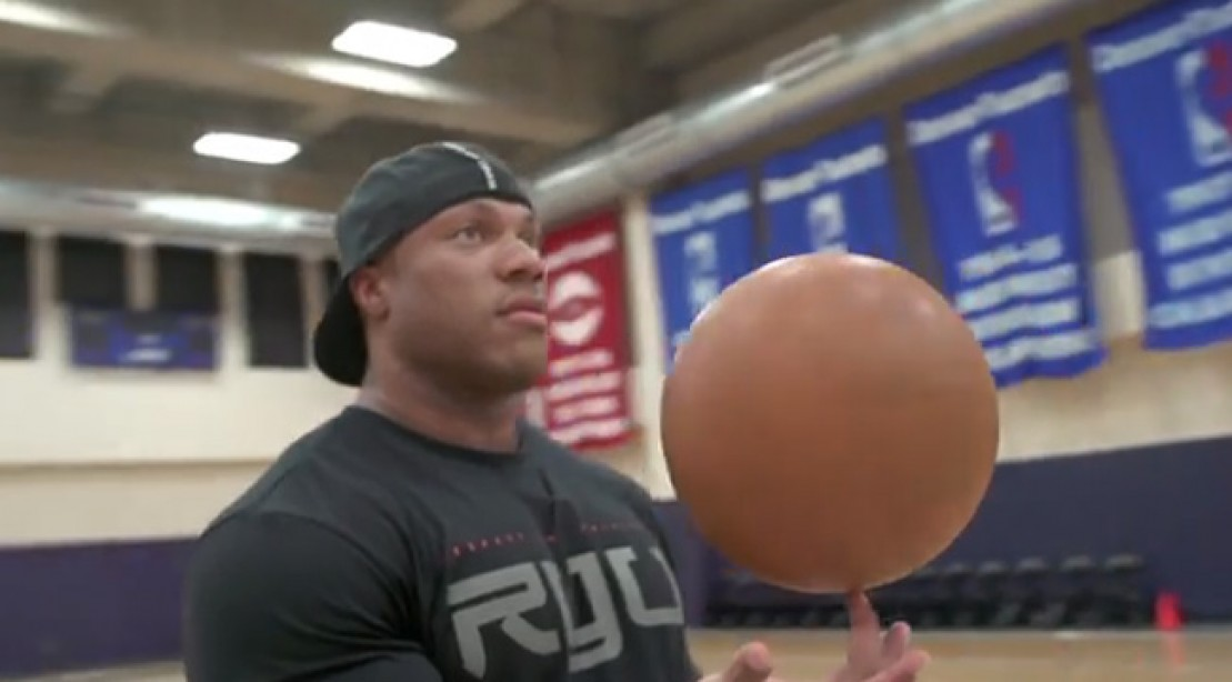 "Phil Heath in a still from ""Generation Iron"""