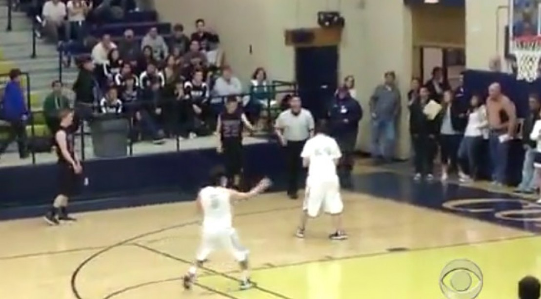 High School Ball Player Shows What Sportsmanship Is All About