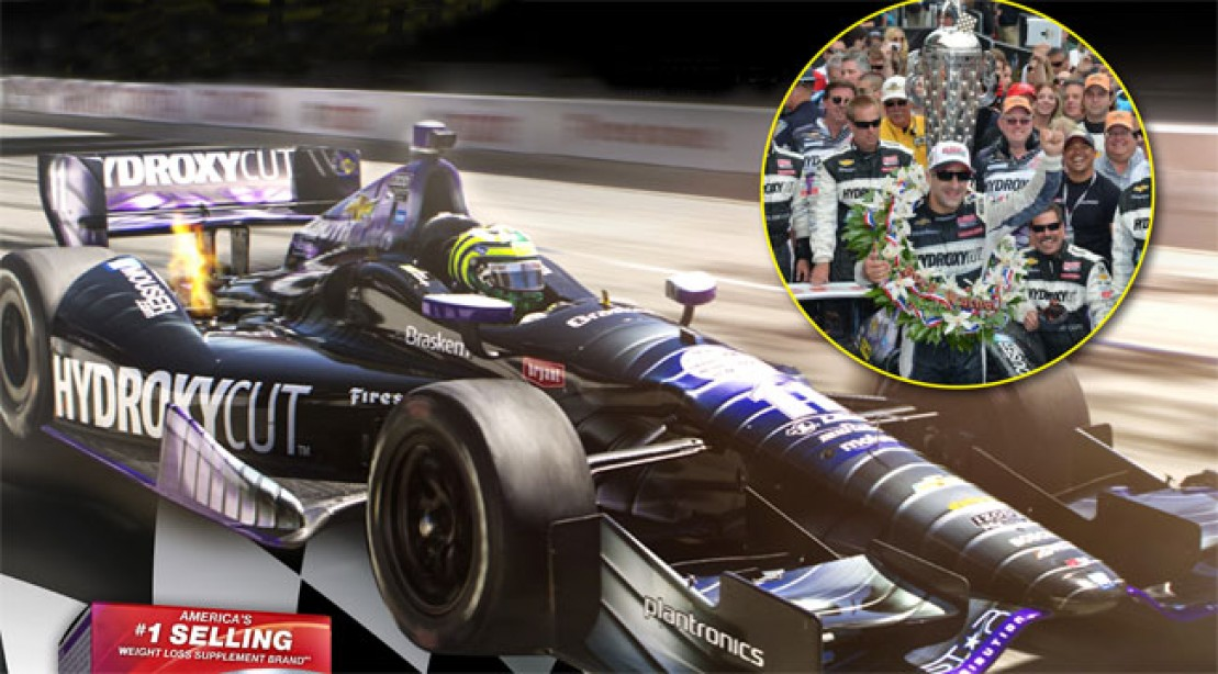 Team Hydroxycut Races to Indy 500 Victory