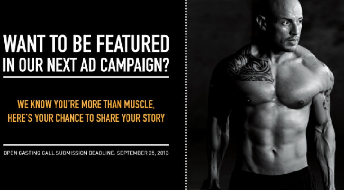 Get Featured In Isopure's Next Ad Campaign