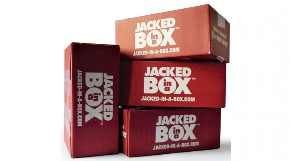 Inside the December Jacked-in-a-Box Sample Box