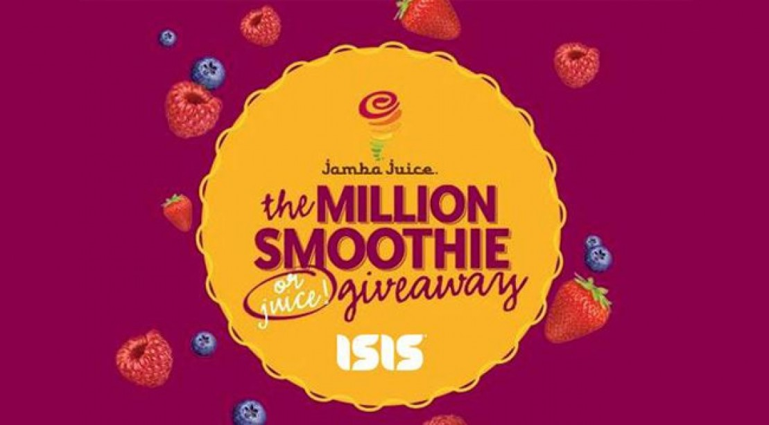 The Million Smoothie (or Juice) Giveaway