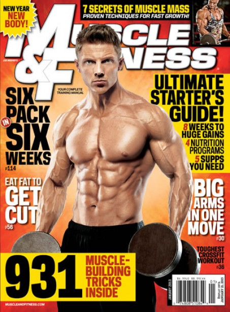 What was your favorite part of the January issue of Muscle & Fitness?