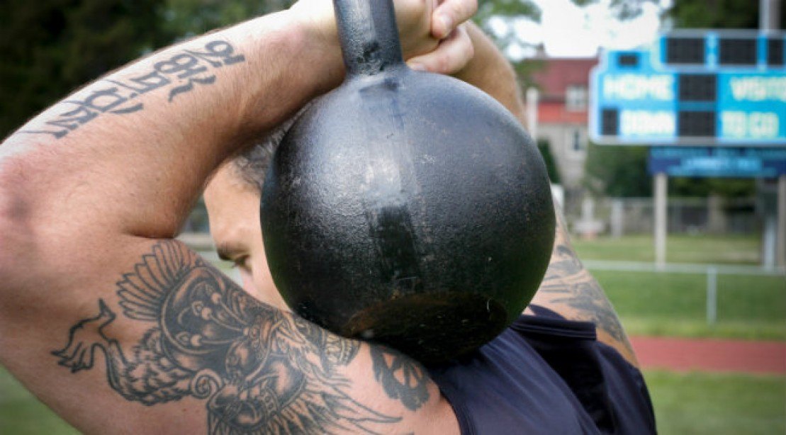 Get Crushed: Hell's Bells Kettlebell Circuit