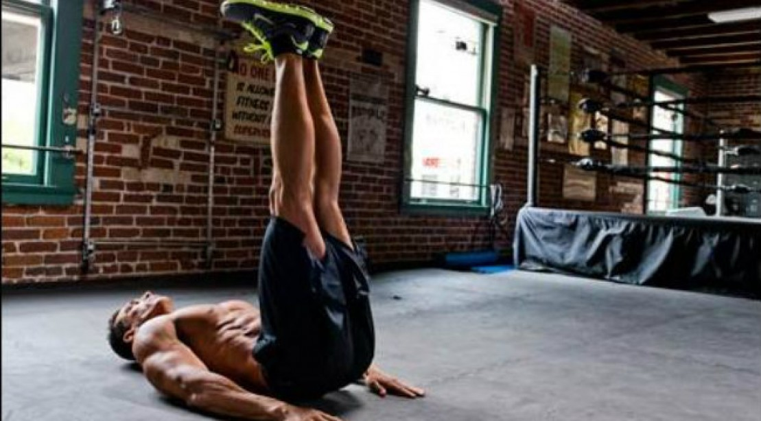 Tone Your Abs With The Lying Leg Raise