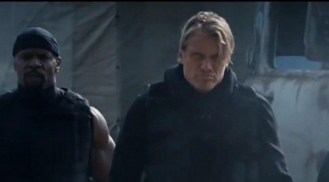Dolph Lundgren Pumped for 'Expendables 3'