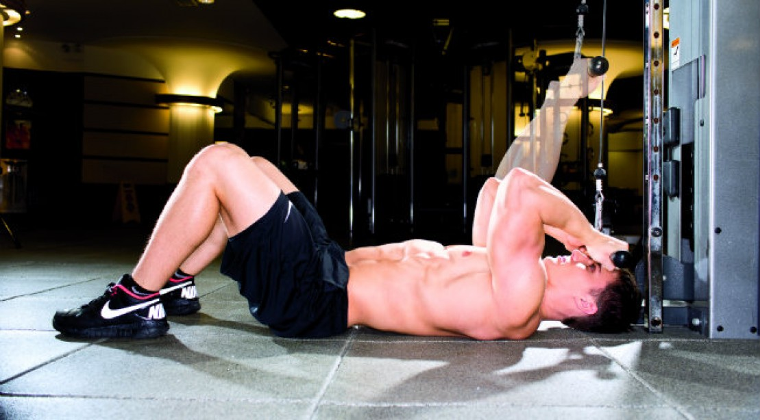 Attack Your Biceps With the Lying Cable Curl