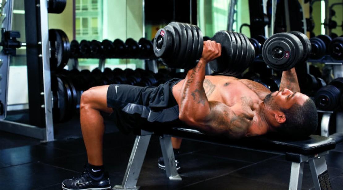 Pumped Up Chest & Shoulder Workout