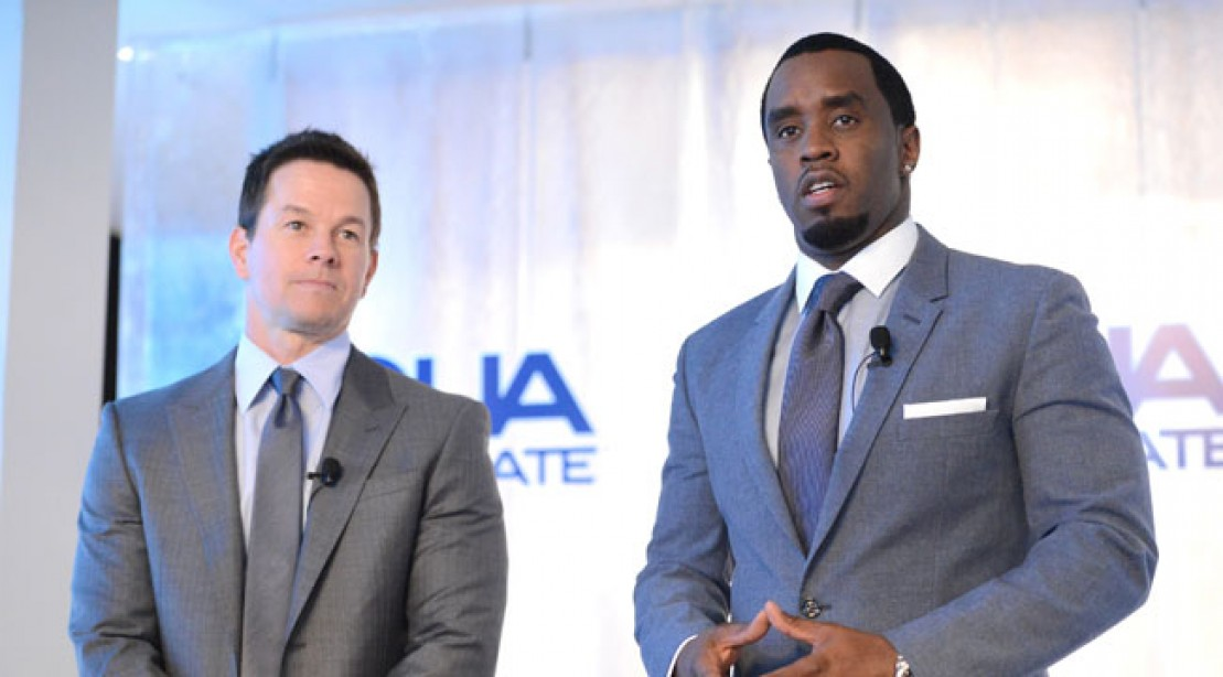 Mark Wahlberg and Diddy