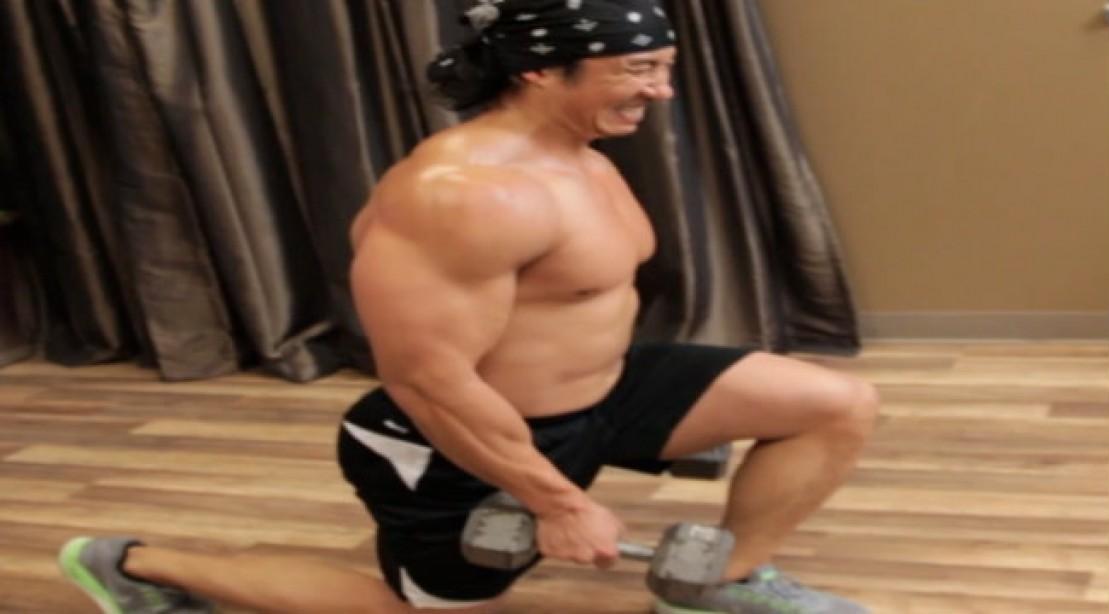 Mike Chang Muscle Building Leg Program Hardcore Home Workout
