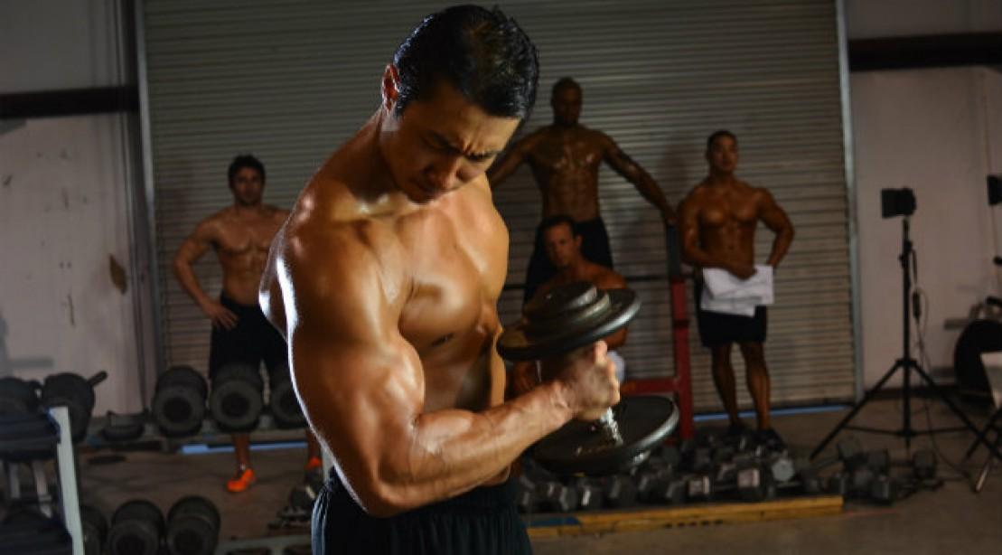 Advanced Full-Body Dumbbell Workout