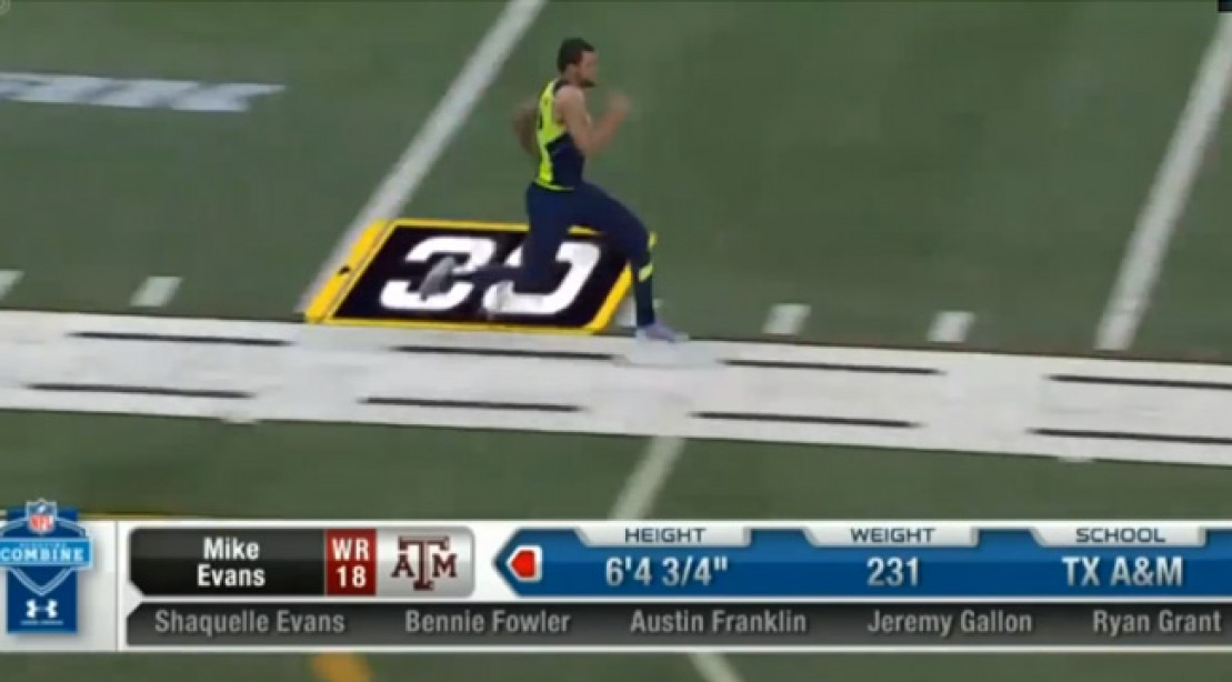 Highlights from the NFL Combine