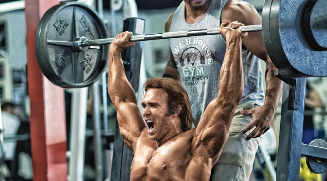 Mike O'Hearn Shoulder Press