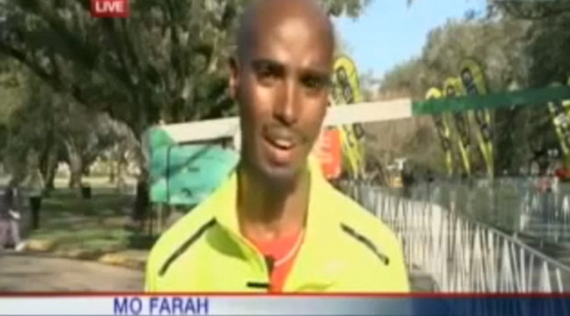 Newscaster Mistakes Olympic Champ for Rookie Runner