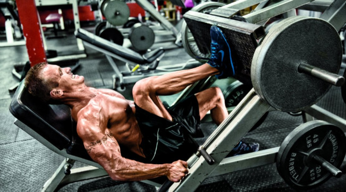slow down for faster muscle growth leg press