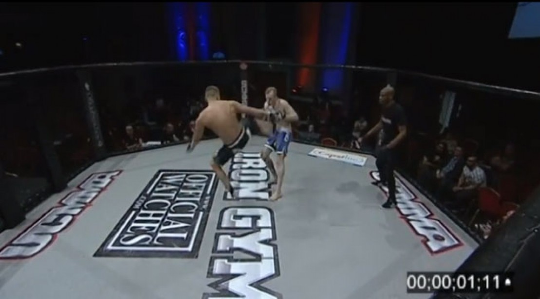 Fastest MMA KO Reportedly Set in UCMMA Fight