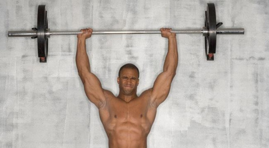 Muscle Building Workout: 9 Ways To Improve Your Overhead ... Overhead Press Muscles Worked