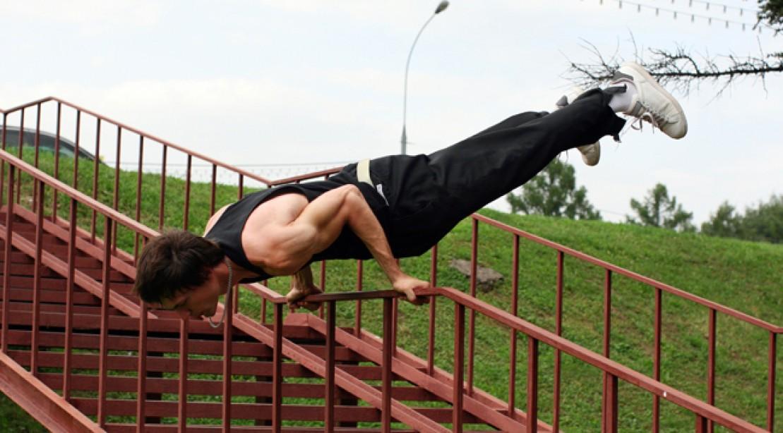 Parkour Crash Course Workout Routine
