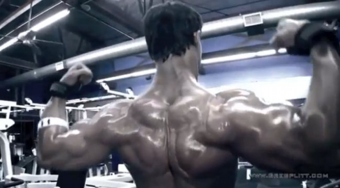 Greg Plitt - Back Workout Preview