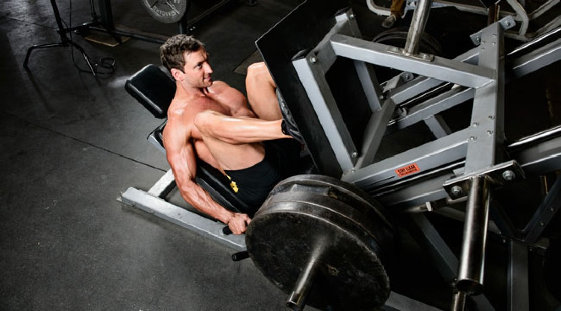 Get the Knee 'Teardrop' With This Leg Press Workout
