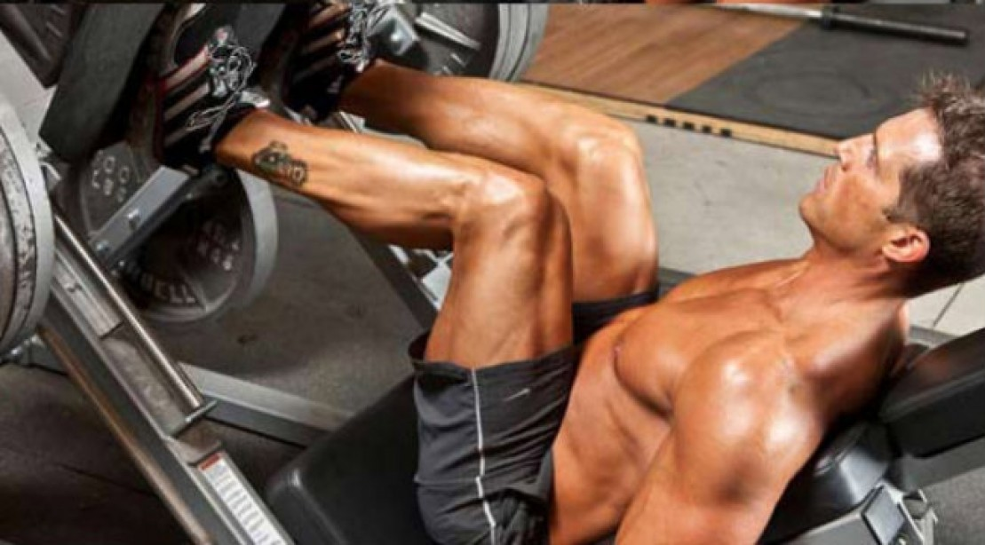 Leg Press Lunacy Workout
